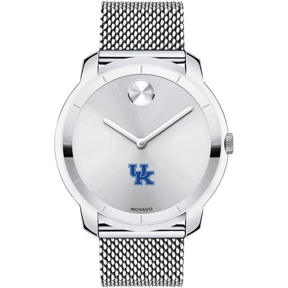 University of Kentucky Men's Movado Stainless Bold 44 - Image 2