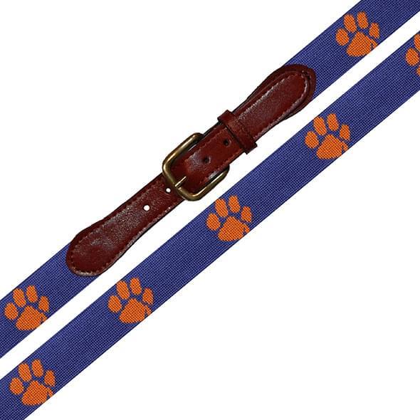 Clemson Men's Cotton Belt