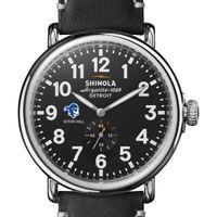 Seton Hall Shinola Watch, The Runwell 47mm Black Dial
