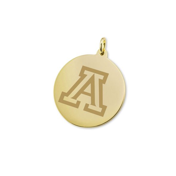 University of Arizona 14K Gold Charm