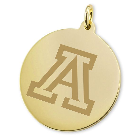University of Arizona 14K Gold Charm - Image 2