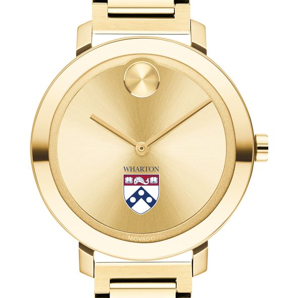 Wharton Women's Movado Gold Bold 34