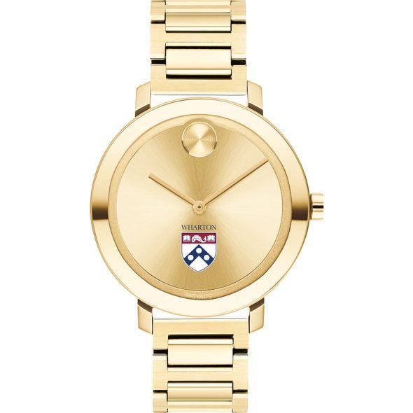 Wharton Women's Movado Gold Bold 34 - Image 2