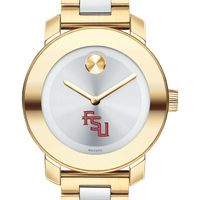Florida State University Women's Movado Two-Tone Bold