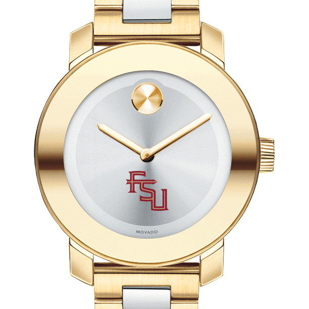Florida State Women's Movado Two-Tone Bold - Image 1