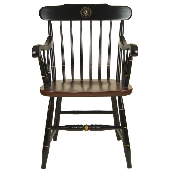 James Madison University Captain's Chair by Hitchcock