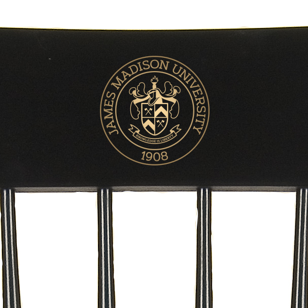 James Madison University Captain's Chair by Hitchcock - Image 2