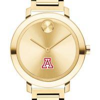 University of Arizona Women's Movado Gold Bold 34