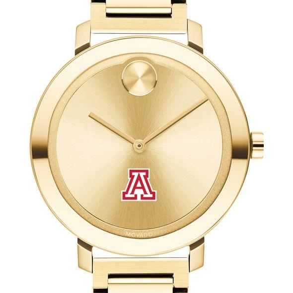 University of Arizona Women's Movado Gold Bold 34 - Image 1