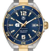 UNC Men's TAG Heuer Two-Tone Formula 1 with Blue Dial & Bezel