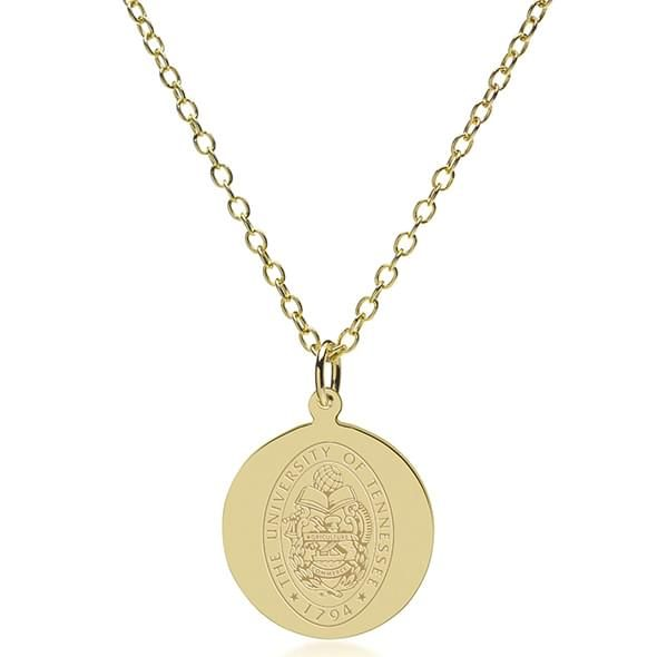 Tennessee 14K Gold Pendant & Chain - Image 2