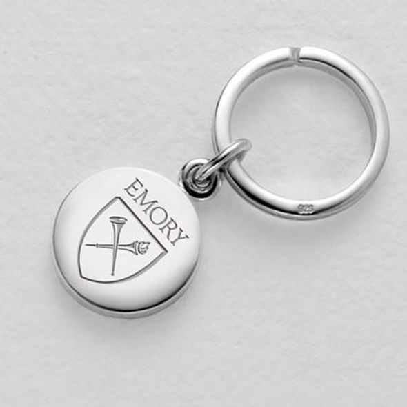 Emory Sterling Silver Insignia Key Ring - Image 1