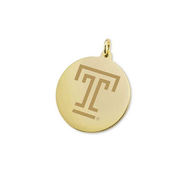 Temple 14K Gold Charm