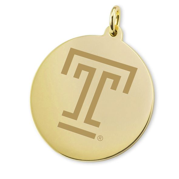 Temple 14K Gold Charm - Image 2