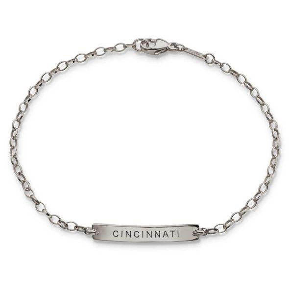 Cincinnati Monica Rich Kosann Petite Poesy Bracelet in Silver - Image 1