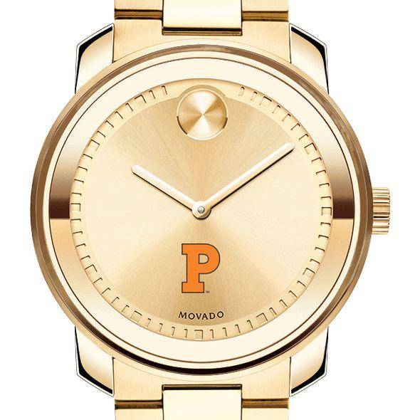 Princeton University Men's Movado Gold Bold