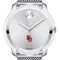 Boston University Men's Movado Stainless Bold 44