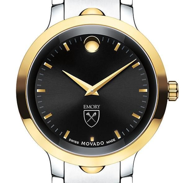 Emory University Men's Movado Luno Sport Two-Tone