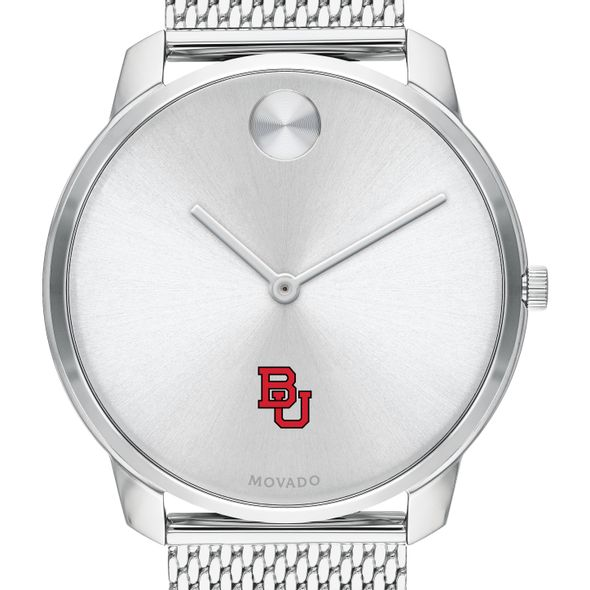 Boston University Men's Movado Stainless Bold 42 - Image 1