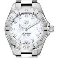 Emory Goizueta Women's TAG Heuer Steel Aquaracer with MOP Diamond Dial
