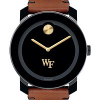 Wake Forest Men's Movado BOLD with Brown Leather Strap