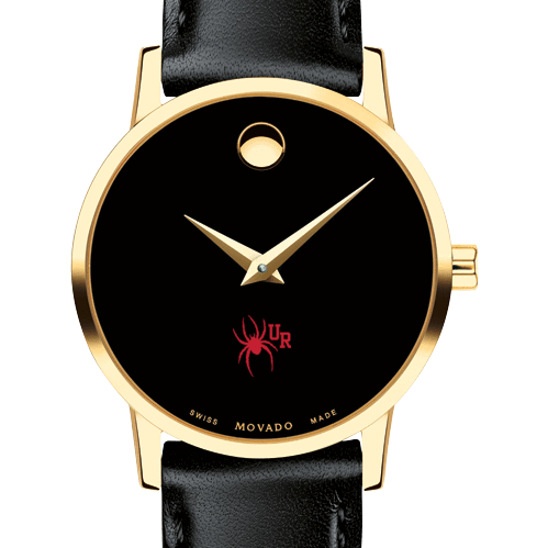 University of Richmond Women's Movado Gold Museum Classic Leather