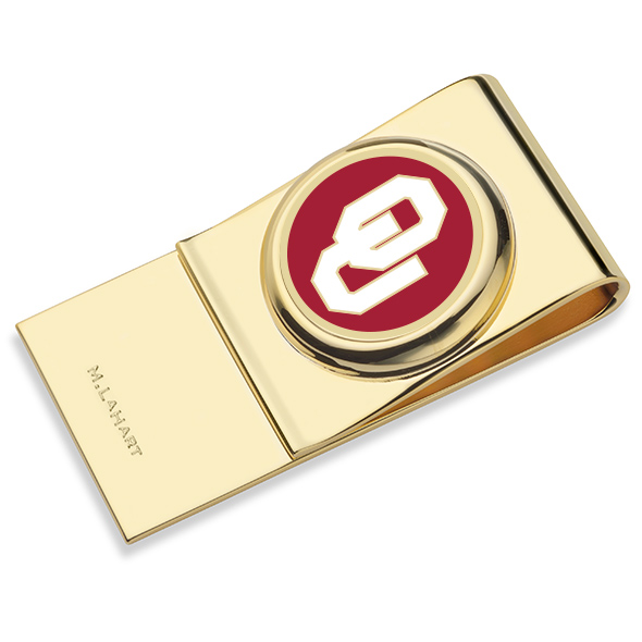 Oklahoma Enamel Money Clip