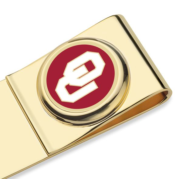 Oklahoma Enamel Money Clip - Image 2
