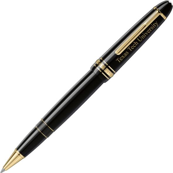 Texas Tech Montblanc Meisterstück LeGrand Rollerball Pen in Gold