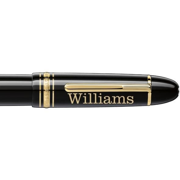 Williams College Montblanc Meisterstück 149 Fountain Pen in Gold - Image 2