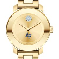 US Air Force Academy Women's Movado Gold Bold