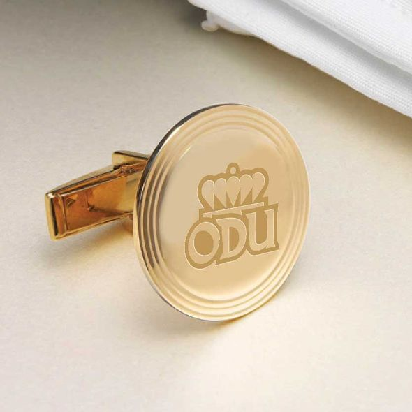 Old Dominion 18K Gold Cufflinks - Image 2