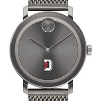 Davidson College Men's Movado BOLD Gunmetal Grey with Mesh Bracelet