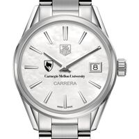 Carnegie Mellon University Women's TAG Heuer Steel Carrera with MOP Dial