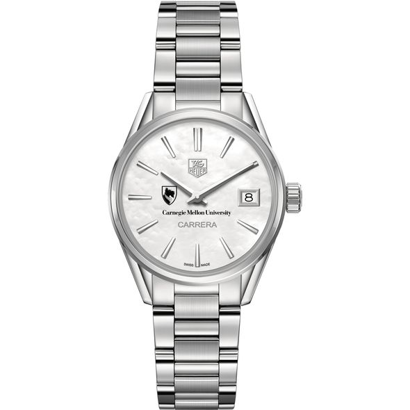 Carnegie Mellon University Women's TAG Heuer Steel Carrera with MOP Dial - Image 2