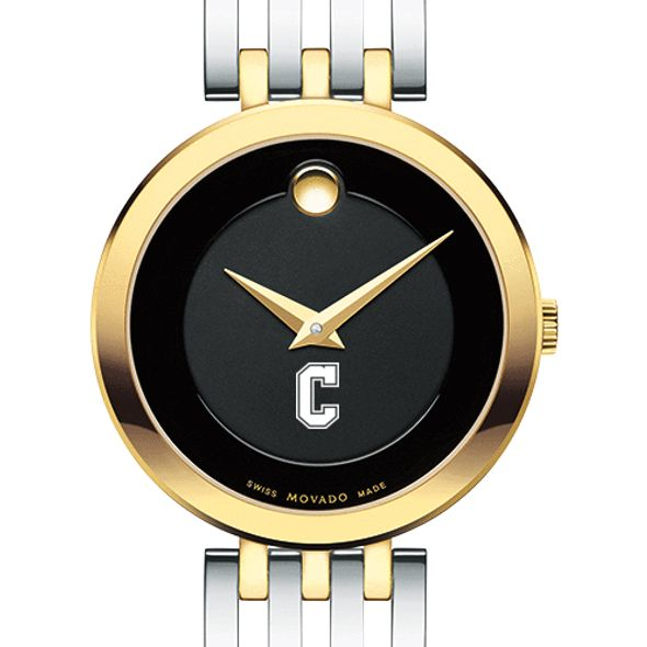 College of Charleston Women's Movado Esparanza Two-Tone Museum with Bracelet