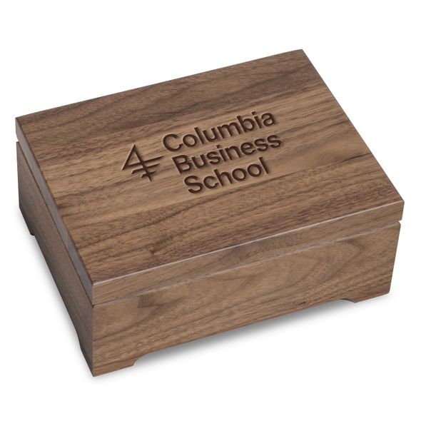Columbia Business Solid Walnut Desk Box - Image 1