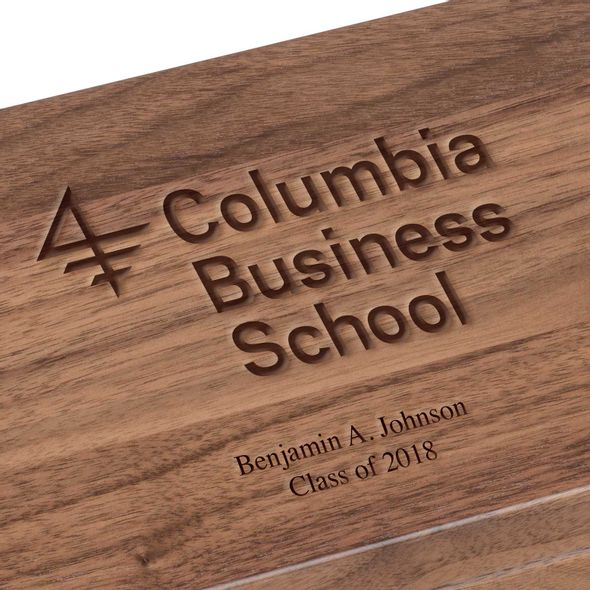 Columbia Business Solid Walnut Desk Box - Image 3