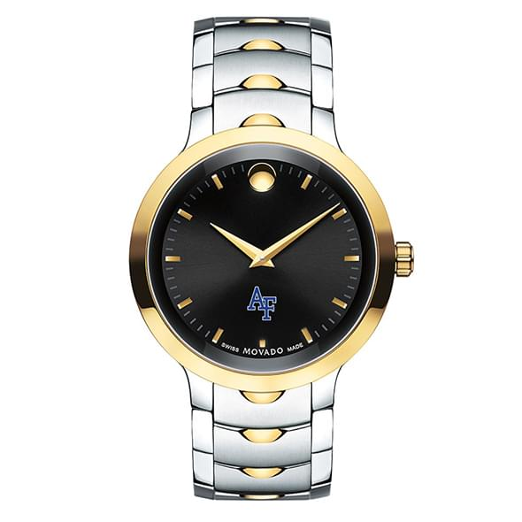 Air Force Academy Men's Movado Luno Sport Two-Tone - Image 2