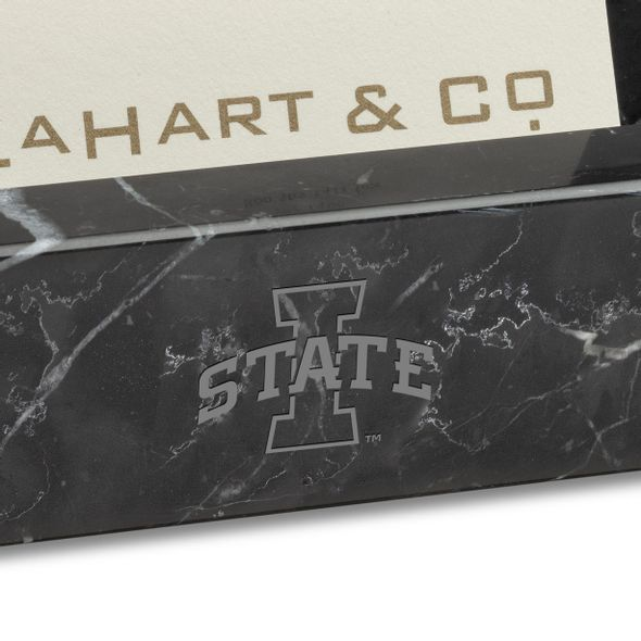 Iowa State Marble Business Card Holder - Image 2