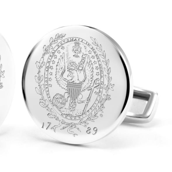 Georgetown University Cufflinks in Sterling Silver - Image 2