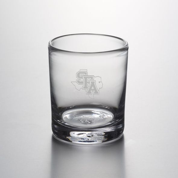 SFASU Double Old Fashioned Glass by Simon Pearce