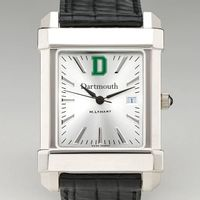 Dartmouth Men's Collegiate Watch with Leather Strap
