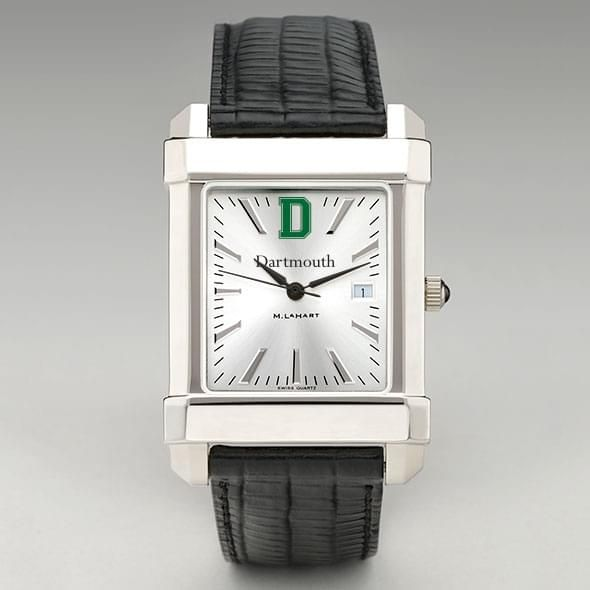 Dartmouth Men's Collegiate Watch with Leather Strap - Image 2