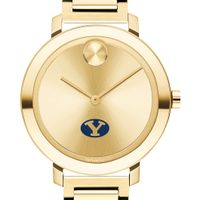 Brigham Young University Women's Movado Gold Bold 34