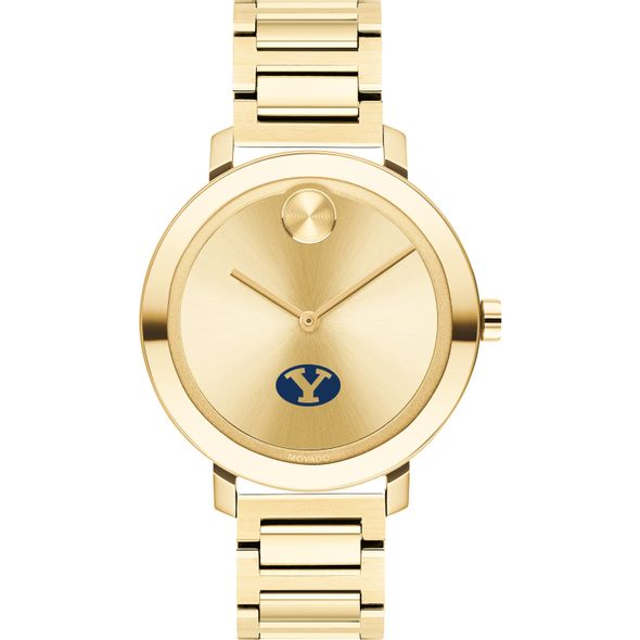 Brigham Young University Women's Movado Gold Bold 34 - Image 2