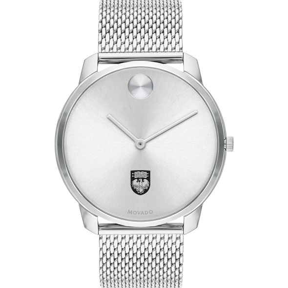 University of Chicago Men's Movado Stainless Bold 42 - Image 2