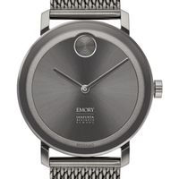 Emory Goizueta Business School Men's Movado BOLD Gunmetal Grey with Mesh Bracelet