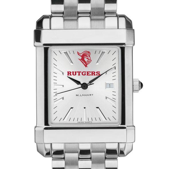 Rutgers University Men's Collegiate Watch w/ Bracelet