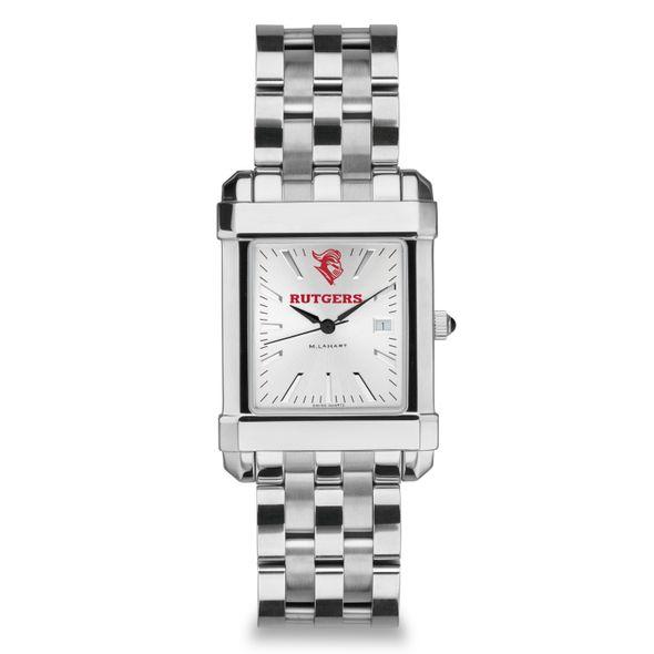 Rutgers University Men's Collegiate Watch w/ Bracelet - Image 2